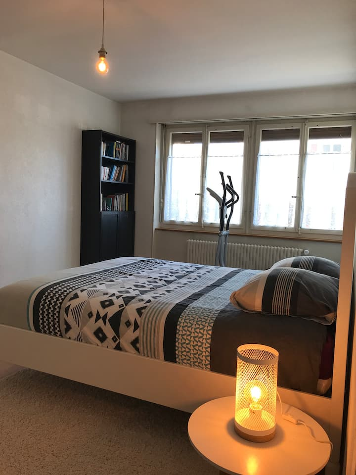 Appartement cosy à 20 min de Bienne