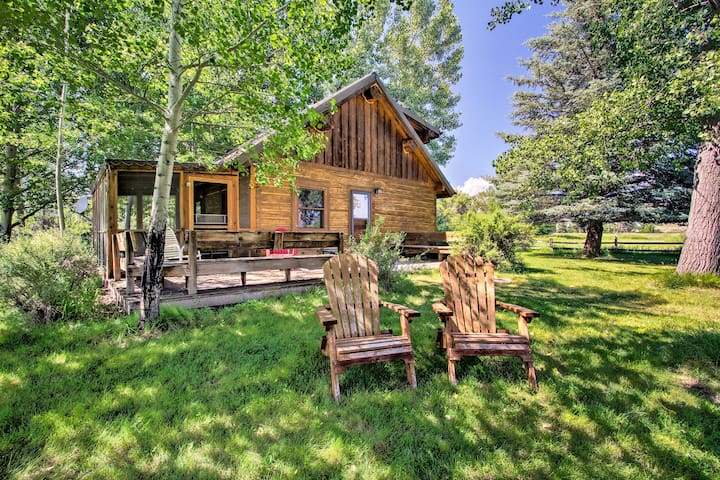 800-Acre Cabin w/Ponds & 2 Mi of Yellowstone River