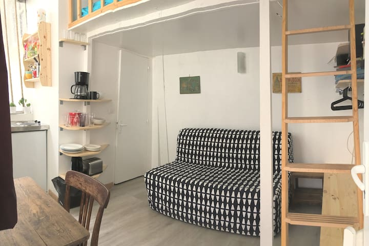 ❤️Small atypical studio in the center of Paris ❤️
