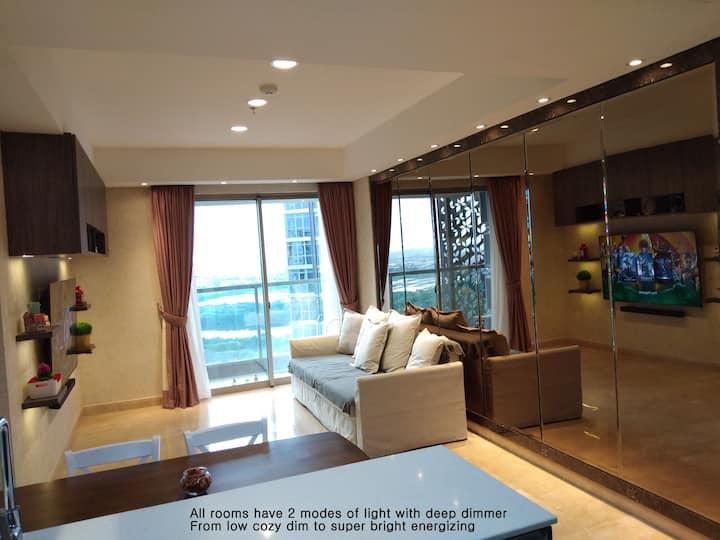 FAST TRANSIT Gold Coast Apartment no hassle! ROOM1