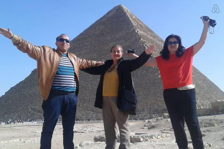 vista pirâmides os ESPñoles brasileros portugees
