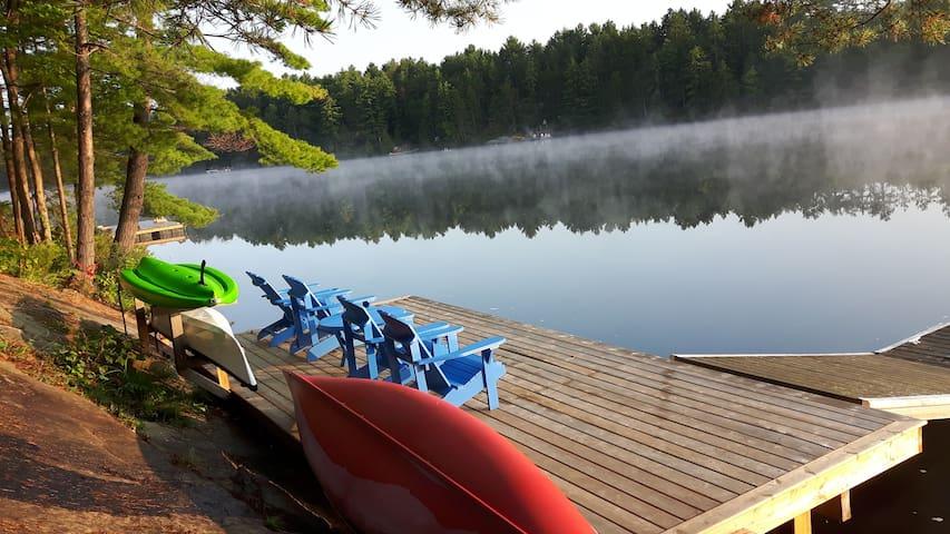 Muldrew Lake 4 Season Getaway