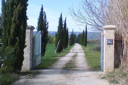 Provence : jolie maison en campagne - Mallemort - Haus
