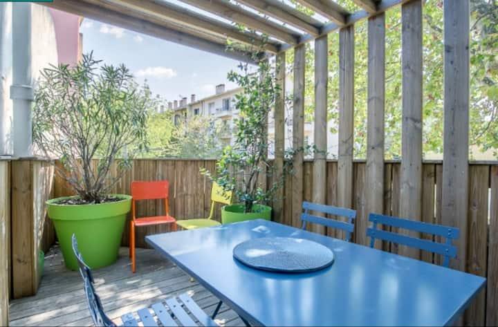 Charmant T2 avec terrasse
