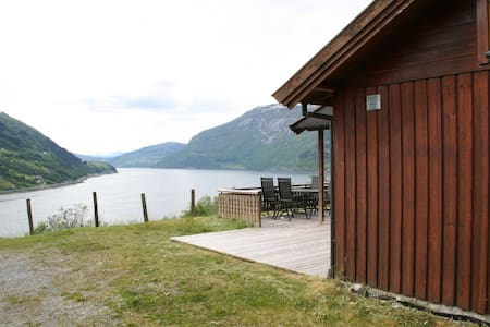 Cabin with view of Nordfjord