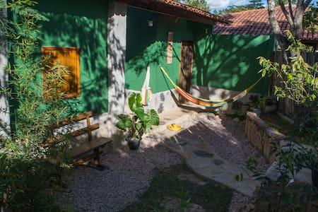 Chalé Refúgio - conforto, charme e aconchego. - Alto Paraíso de Goiás
