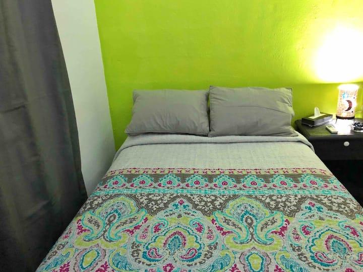 Casa del Sol Green    habitación independiente