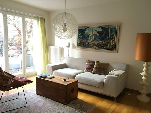 Flat next to park and lake - Zürich - Apartment