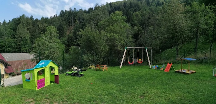 House great for kids under Krvavec