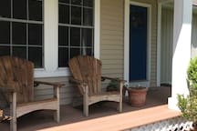 The front porch is available for our guests.