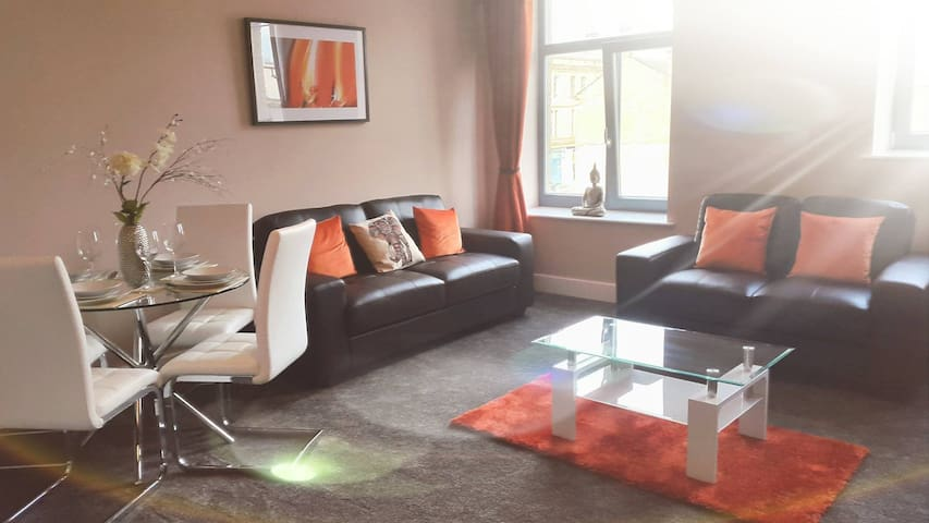 Gorgeous, Stylish Apartment, City Centre - Bradford - Huoneisto