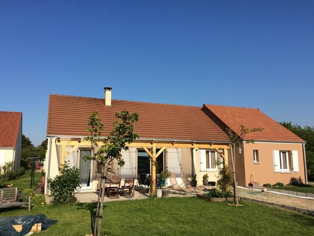 Maison familiale entre Blois, Chambord et Beauval - Cormeray - Hus