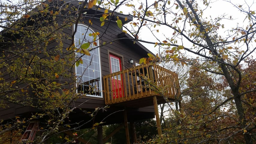 Eufaula LuxuryTreehouse/Breathtaking View Included