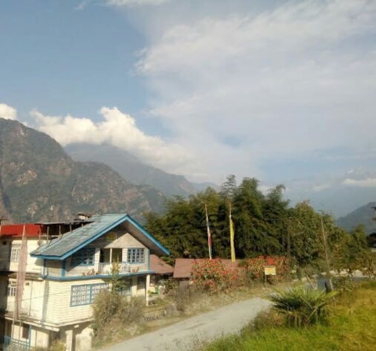 Lazomla Homestay on North Sikkim Highway that goes to Lachen and Lachung