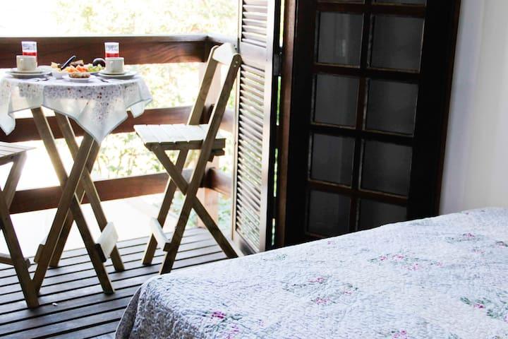 .Suíte no Campeche com Café da Manhã.