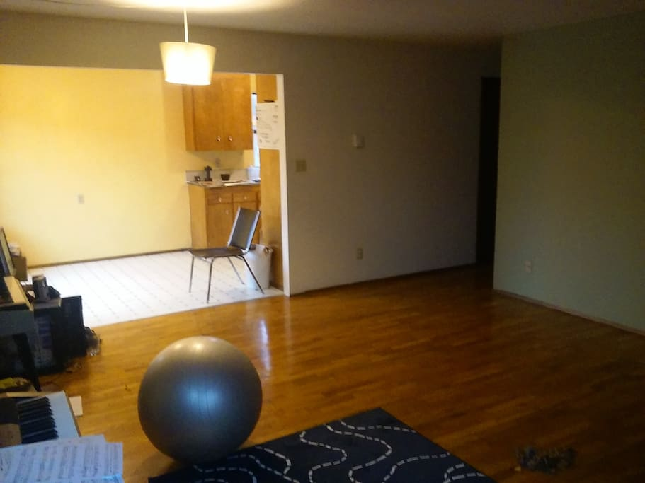Shared living space!