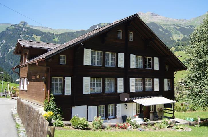 Schöne Ferienwohnung in ruhig gelegenem Chalet - Grindelwald - Byt