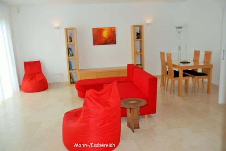Freundliches stillvolles 61 qm Appartement - Bad Vilbel - Lejlighed