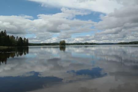 Luontoloma keskellä Suomea - Laukaa - Wohnung
