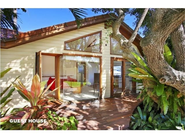Fantastic self contained studio/guest house living - Port Macquarie - Pension