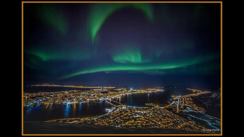 Nordlys boligen i Tromsdalen (Northern lights) - Tromsø - Appartement