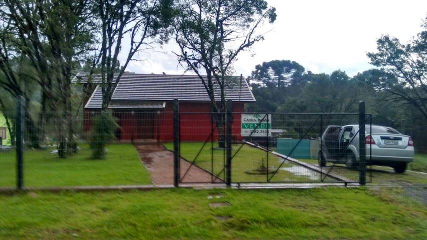 Casa de pouso na Barragem do Salto - São Francisco de Paula - Casa