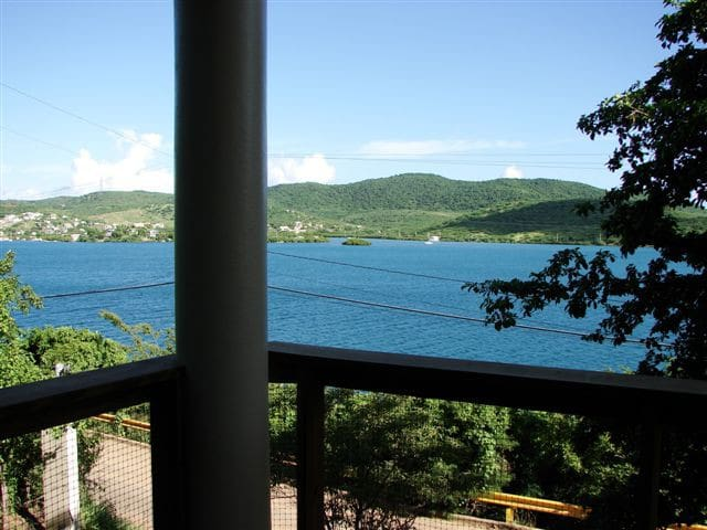SeaBlue (Lower): Modern 2-bdrm villa on the water