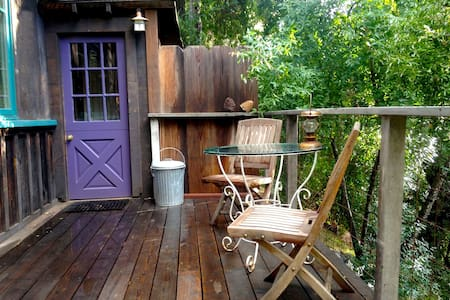 Cozy, rustic studio by the river - Carmel Valley