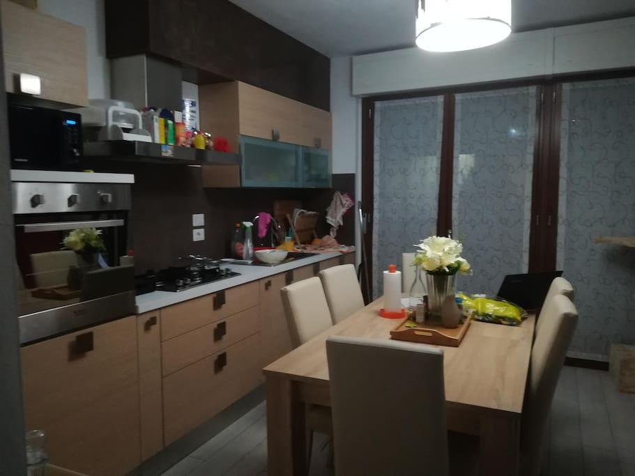 Cucina in condivisione