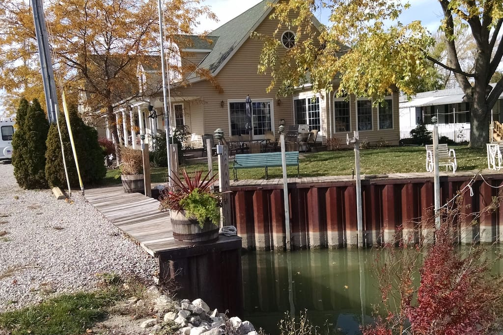 50 ft Dock with electric and water available