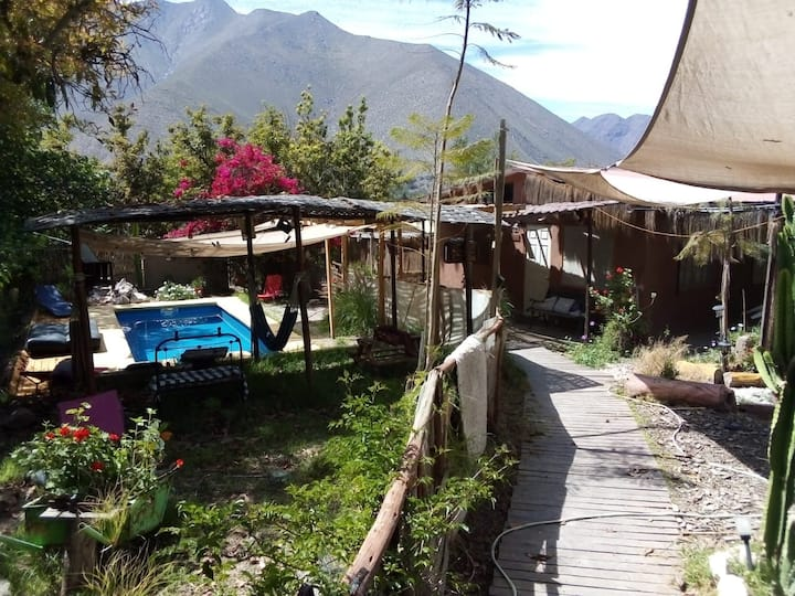 Cabaña  Peralillo  Elqui  mas de dos dias rebajas