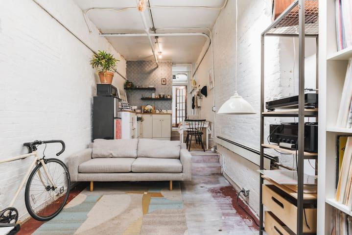 Unique Williamsburg Apartment