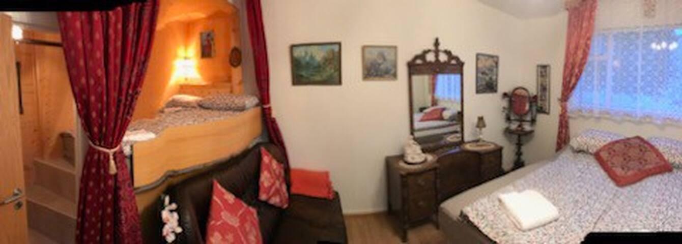 Lovely hotel-like private room at center Akureyri
