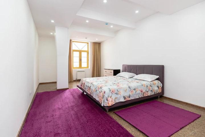 Новая квартира с прекрасным видом на г.Алматы