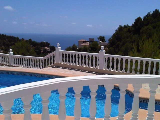 Charmante villa incl. A/C hot/cold - Altea - Villa