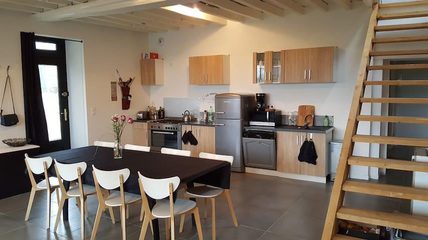 Maison au calme à la campagne - Bains-sur-Oust - บ้าน