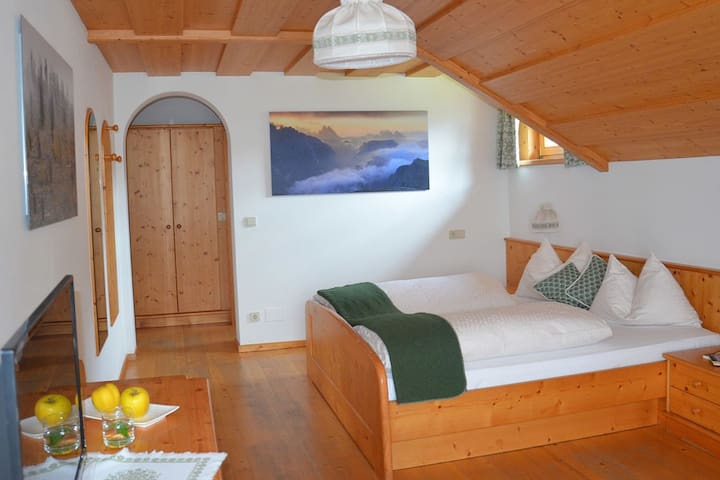 Privatzimmer & Frühstück - Urlaub mit Bergblick