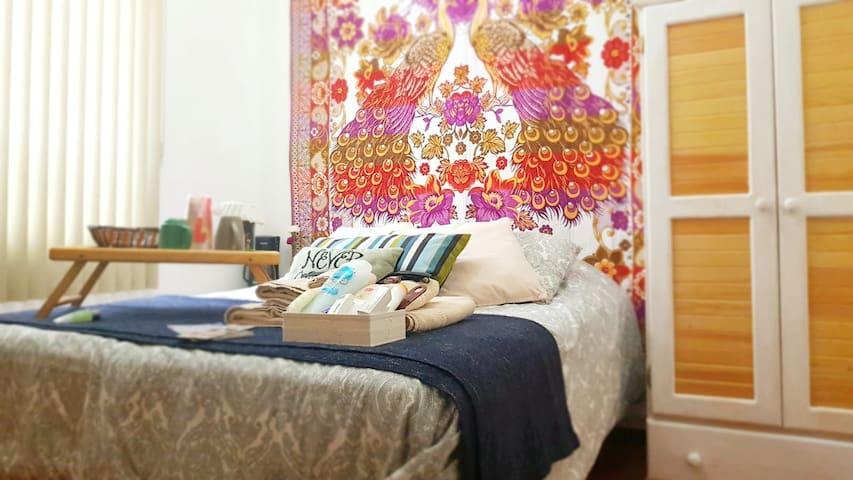Cozy and bright room in Roma Norte