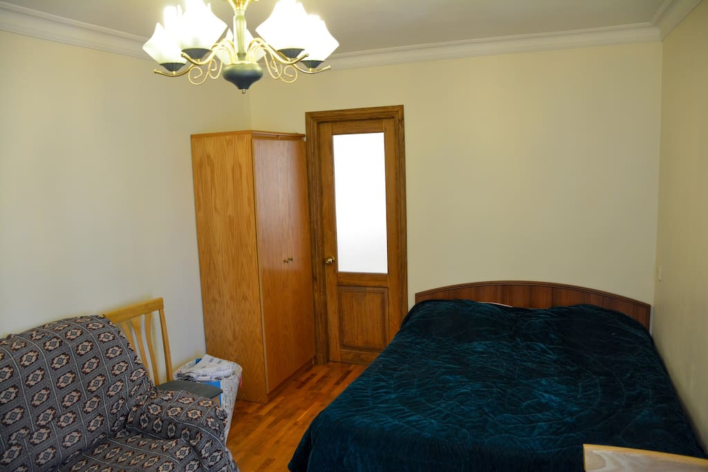1 bed and 1 openable sofa