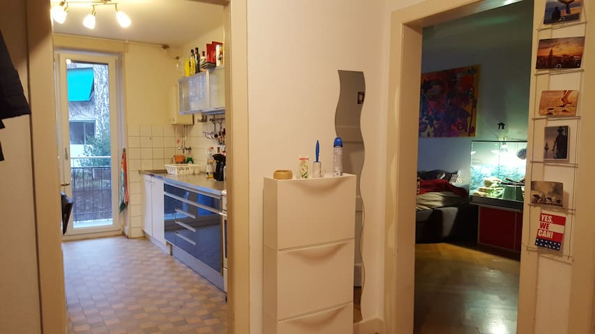 Geräumiges Zimmer in guter Lage - Basel - Wohnung