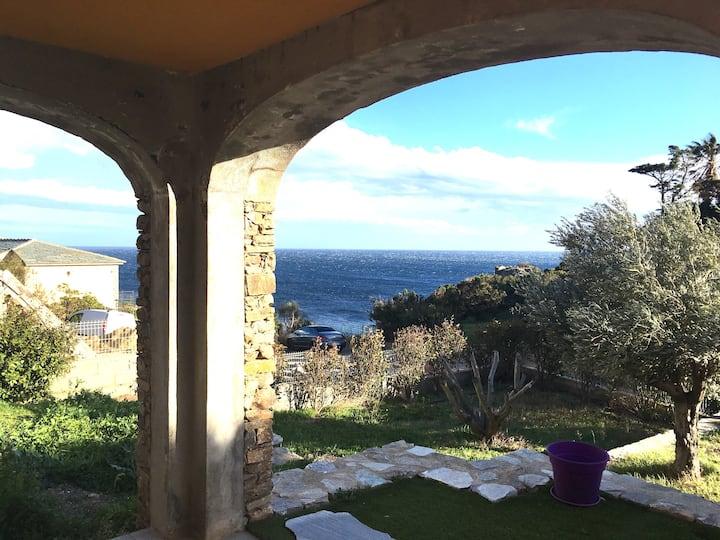 Cap Corse Bas de villa à 20 mn de Bastia