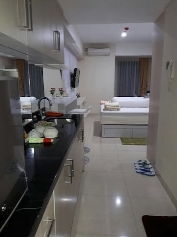 Apt Cozy, strategis,fasilitas hotel - Semarang - Appartement