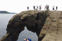 世界級的景觀美景-象鼻岩