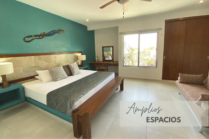 Enjoy a pleasant stay in a large space.