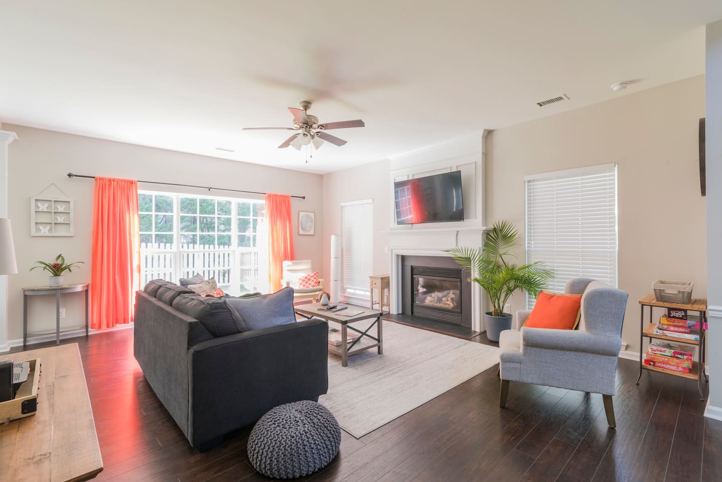 """""""Our family was thrilled with Randi's place! Honestly, it exceeded our expectations. It was beautifully decorated, spotlessly clean ... We loved how close we were to 485, shopping and restaurants. We would highly recommend this stay!"""""""