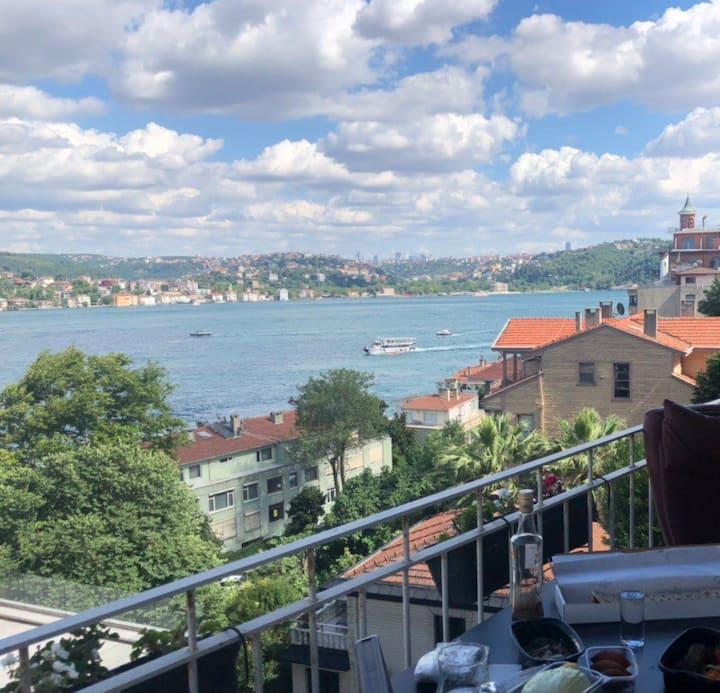 Amazing Bosphorus view appartment