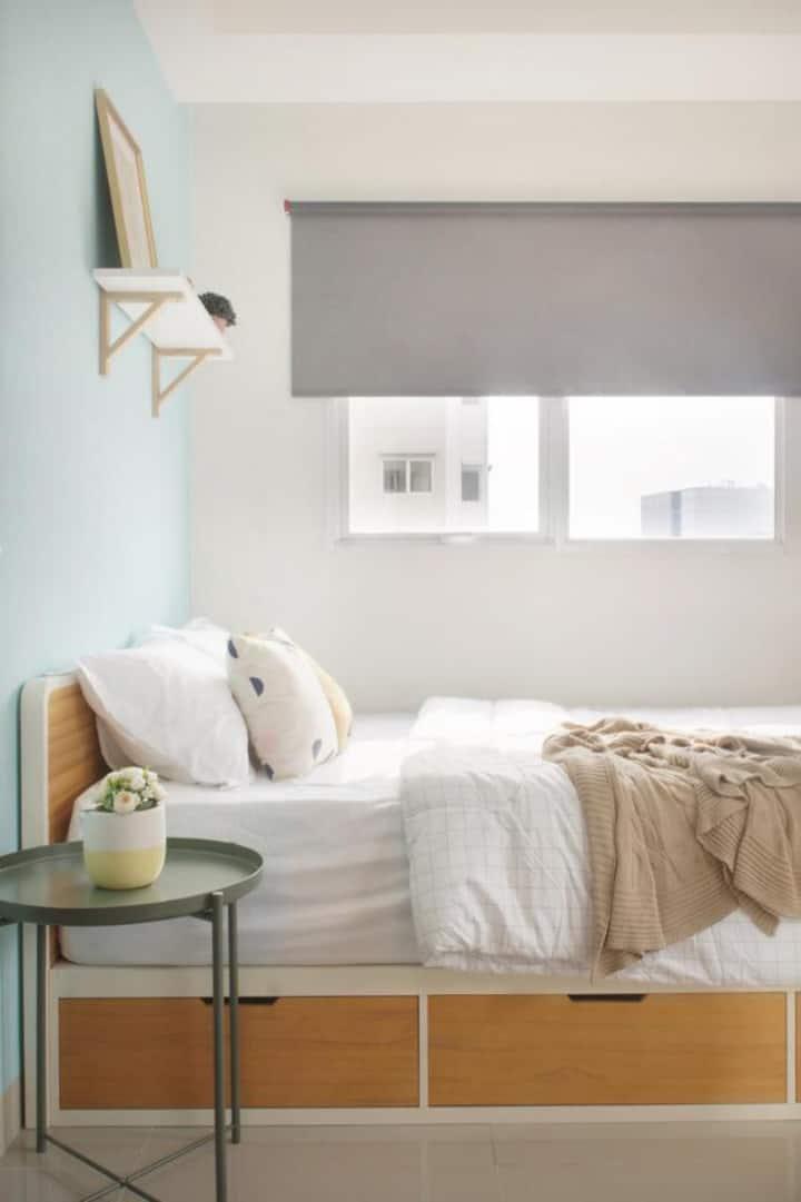 Disewakan 2 Bedroom apartemen full furnished