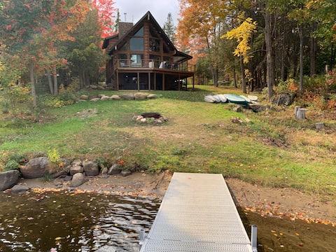 2018 Brand New Lake Adirondack Rustic Chalet