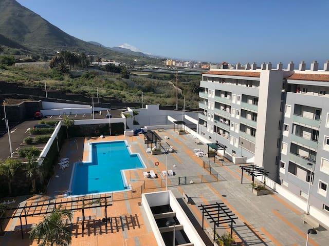New apartment Bajamar, Laguna coast. Armonia Park