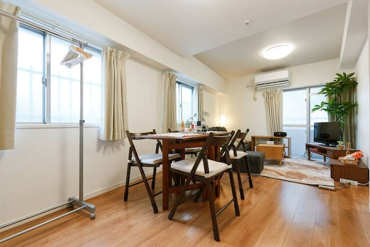 #1 Fully renovated condo Nakameguro - 目黒区